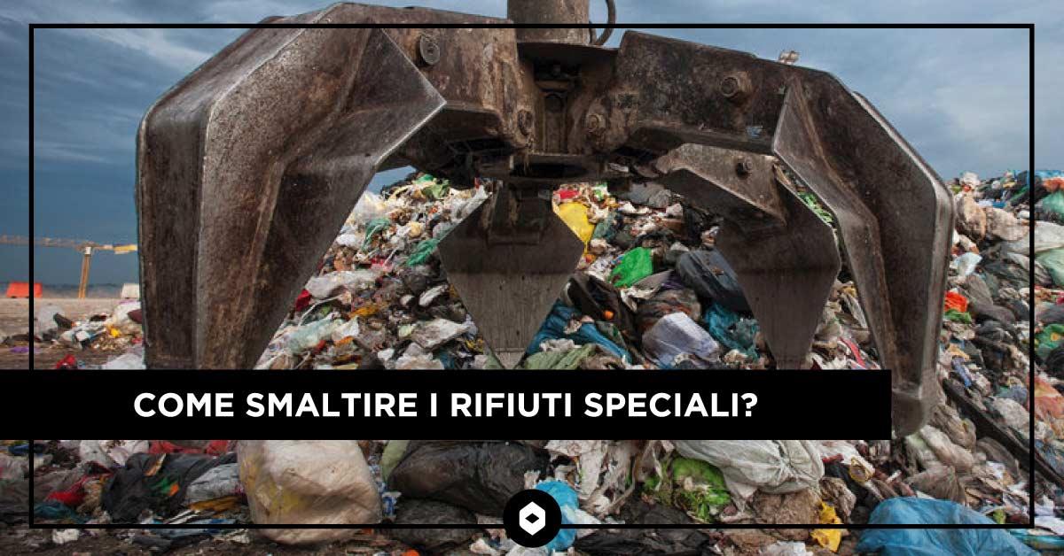 Come smaltire i rifiuti speciali?